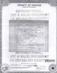 Leonardo Escalante Sr's Death Certificate.