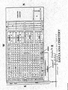 Location of Leonardo's grave at Santa Ana Cemetery.