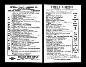 Leonardo Escalante, 1926 Imperial County Directory.