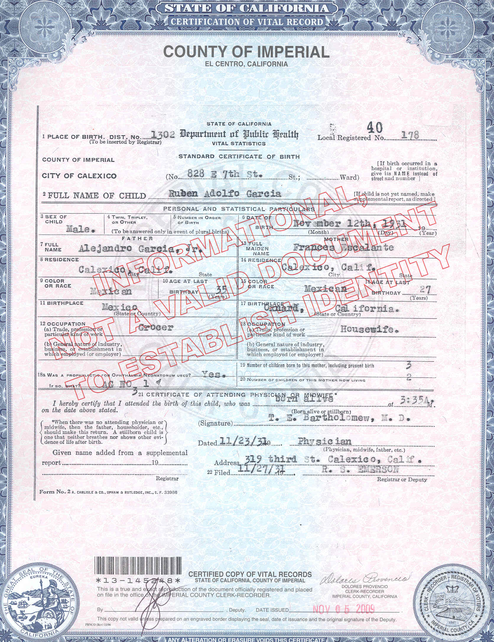 Beautiful photograph of birth certificate san jose business tneranch from birth certificate san jose image source tneranch aiddatafo Images