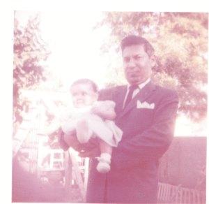 Oscar Garcia (1960s?). At family party.