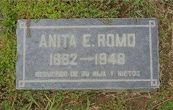 Ana Escalante de Romo's Gravesite, Santa Ana Cemetery, CA