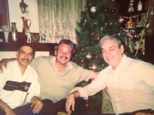 Brothers: Manuel Sais, Jr, Harry Escalante, and John Escalante, 1986.
