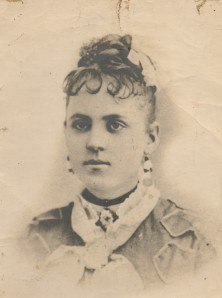 Ana Escalante de Romo as a young woman.
