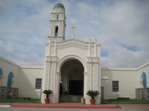 Main Chapel. Holy Cross Cemetery, San Diego, CA
