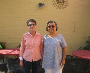 My Tia and Mom, Rigo's, Tucson, Arizona.