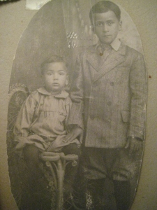 Alberto and Ruben, El Rio, CA, around 1910.