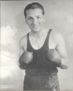 Tony Escalante. Boxer.