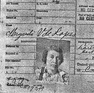 Tia Margarita Valenzuela de Lopez.