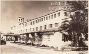 Hotel De Anza. Swanky.