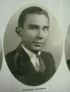Graduation photo, Calexico High School, 1934.